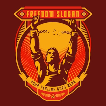 自由革命連合バッジ