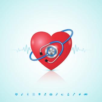 ヘルスケアと医療の概念