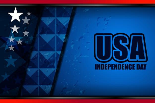 独立記念日のためのアメリカの国旗の背景
