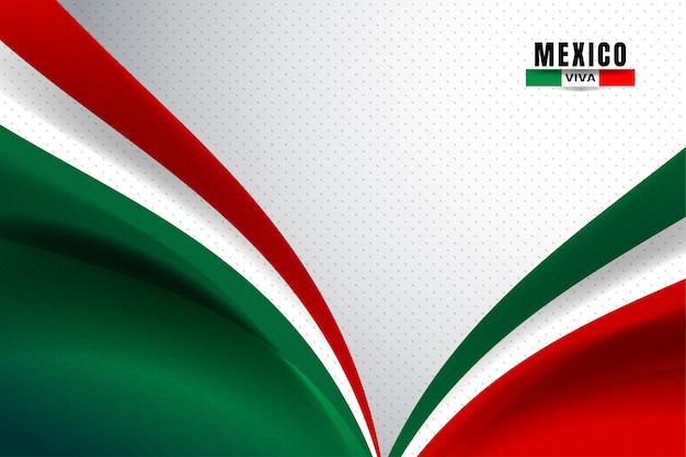 メキシコの国旗の背景