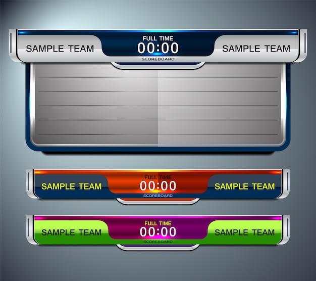 Спортивный шаблон для футбола и футбола