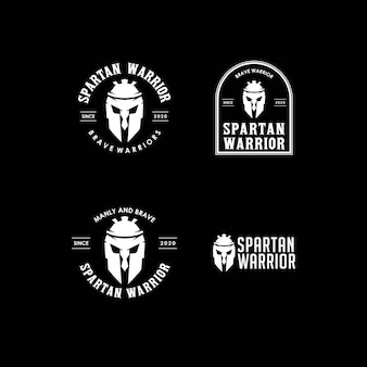 スパルタ戦士のロゴ