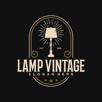 Принт-фара мебель элеган винтажный логотип дизайн шаблона премиум