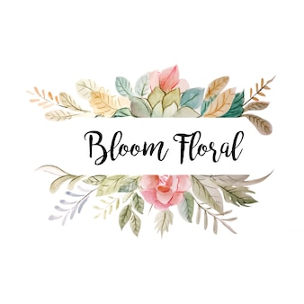 ブルーム花飾り