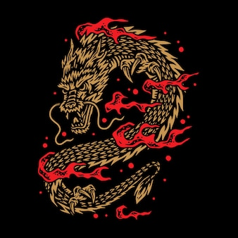 Иллюстрация дракона