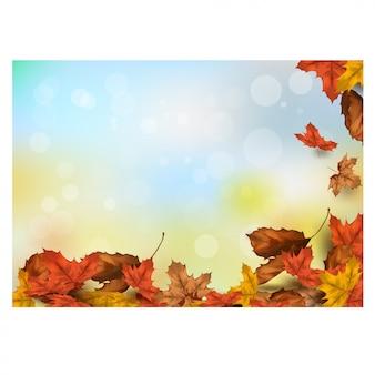 秋の感謝祭の季節背景