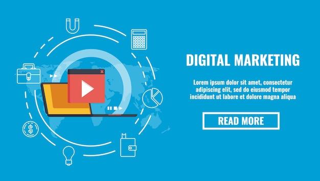 動画コンテンツの広告、世界のブログ