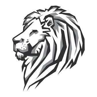ライオンヘッドベクトル