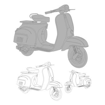 Векторный скутер
