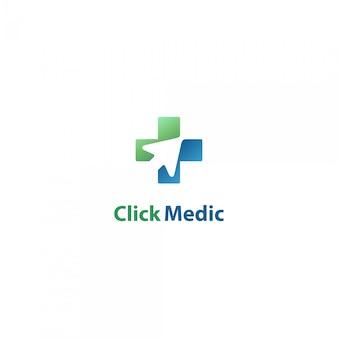 オンライン医療用のロゴをクリック