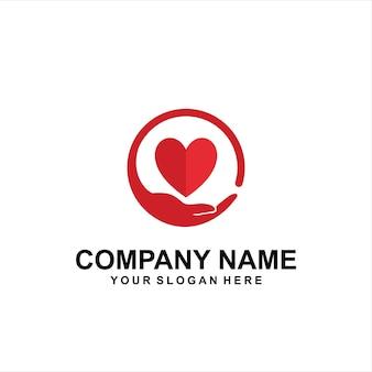 Сохранить сердечный логотип