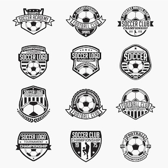 Футбольные значки и логотипы