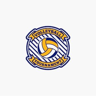 Значок волейбольного клуба