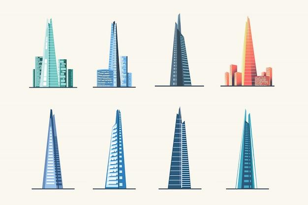 Осколок лондонский городской горизонт и архитектура