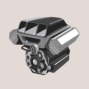 Современный автомобильный двигатель