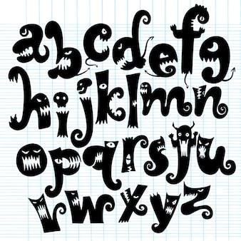 モンスターアルファベット