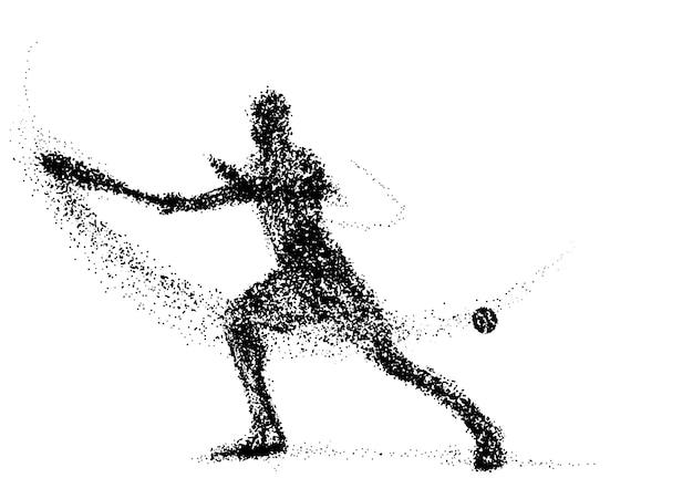 Теннис частиц
