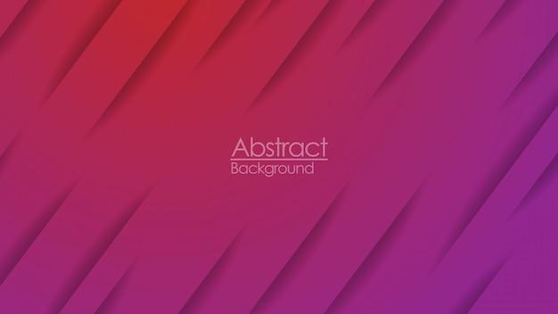 赤紫色のグラデーション紙カットラインの抽象的な壁紙