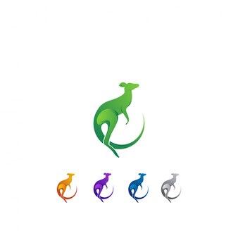 ロゴデザインカンガルーセット