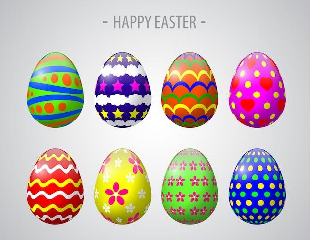イースターカラフルな素晴らしい卵。