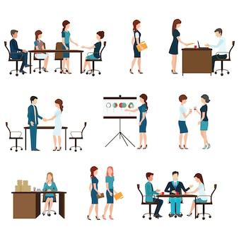 Дизайн деловой встречи.