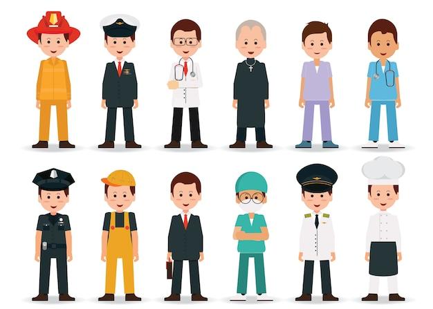 Люди профессии и профессии мужчины