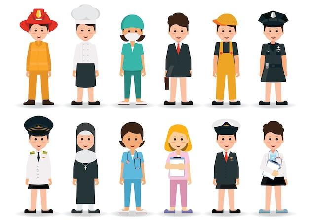 Люди профессий и профессий женщины