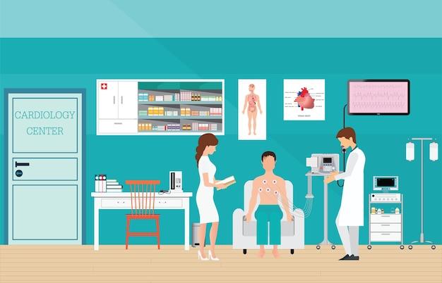 心電図検査または心臓検査