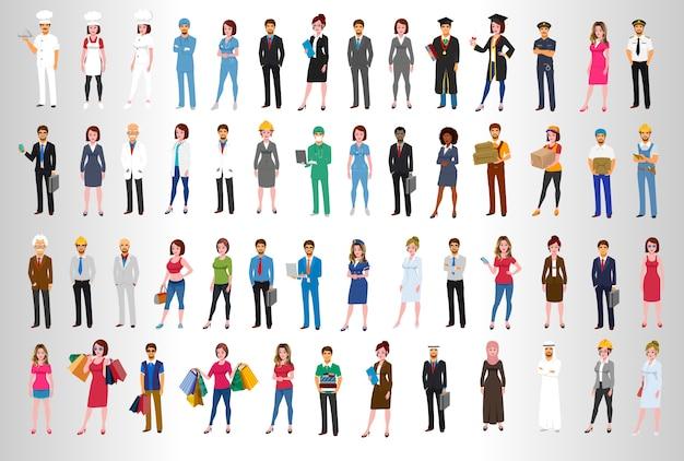 Позы персонажей мирового бизнеса
