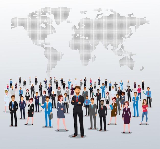 Успешные члены бизнес-команды
