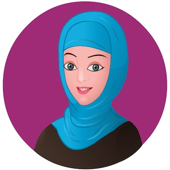 アラブの女の子