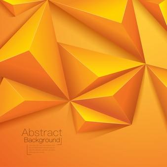 オレンジゴールド色の背景