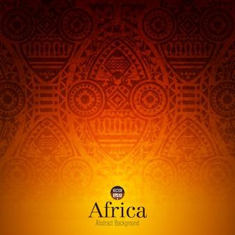 伝統的なアフリカの芸術の背景
