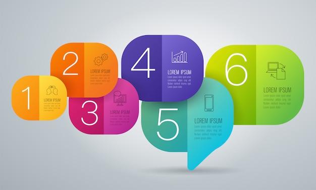 Бизнес инфографики элементы