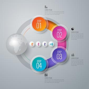 手順とオプションを含むインフォグラフィック