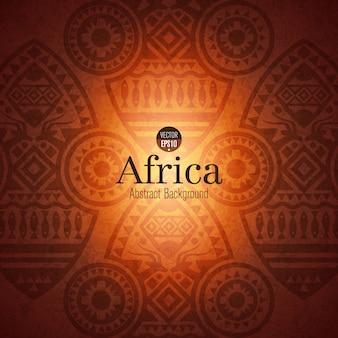 アフリカの伝統的な芸術の背景