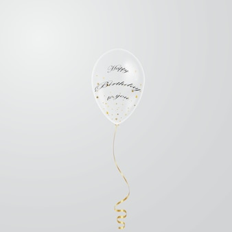 誕生日の背景のデザインベクトル図