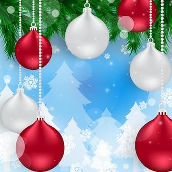 Рождественские фоны векторные иллюстрации