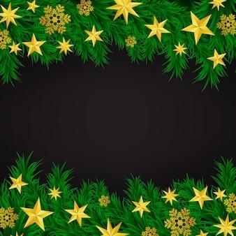 クリスマスの背景ベクトルのイラスト