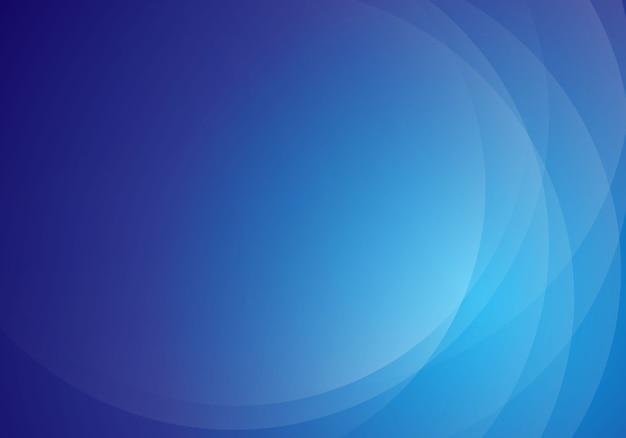 モダンな抽象的な青い波背景デザイン