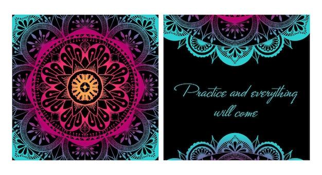 Дизайн йога коврик