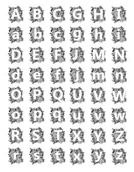 Шрифт татуировки