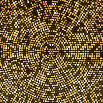 ゴールドディスコライトのベクトルの背景