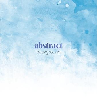 Акварель морской абстракция