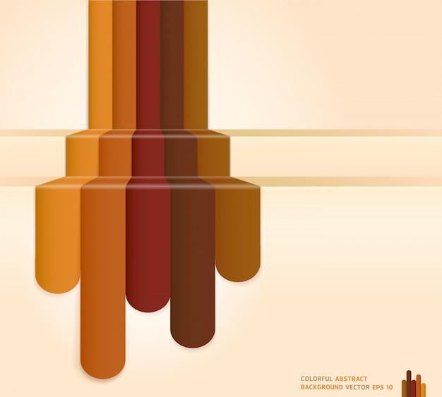 レトロな茶色の色の抽象的な背景。