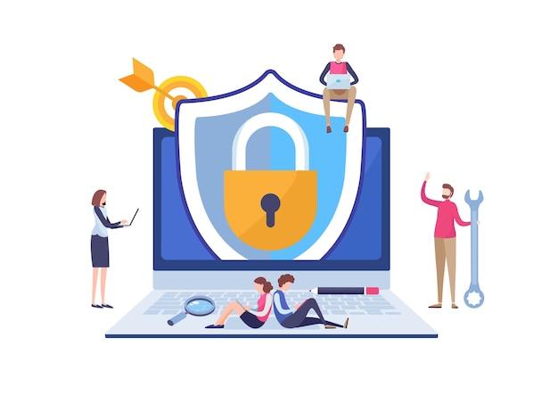 アンチウイルスセキュリティ保護アプリケーション。