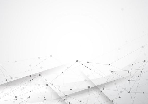 抽象的な点と線を結ぶ