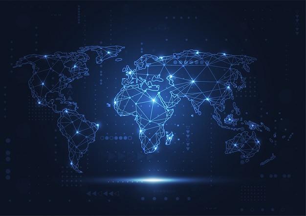 グローバルネットワーク接続