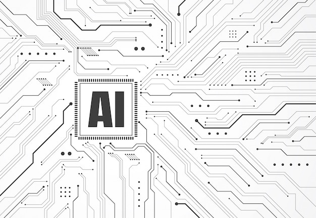 回路基板上の人工知能チップセット