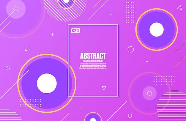 Абстрактный современный фиолетовый цвета градиента с геометрической формы для бизнес фон